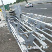 厂家定做防撞隔离栏杆 预应力活动护栏 折叠预应力高速活动护栏