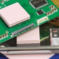 生产高导热硅胶片 矽胶绝缘片 1mm厚软硅胶垫