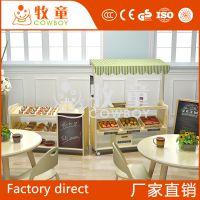 【广东牧童】儿童益智过家家玩具模拟餐厅角色扮演区设计布置