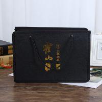 批发创意广告礼品包装袋定制logo商务印花皮革手提无纺布礼品袋