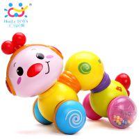 汇乐997爬行小虫婴幼儿宝宝学步爬亲子6-12个月益智早教音乐玩具