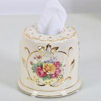 礼品奢华欧式纸巾盒家居用品房间装饰品创意客厅餐厅 家用抽纸盒