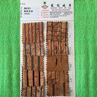 优质木纹真软木纹 软木印花 天然软木革 PU木纹皮革台湾真木纹