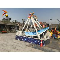 小型儿童新型游乐设备迷你海盗船游乐园规划设计