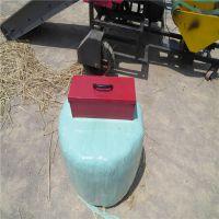 浩发牧草保鲜包膜机参数 保鲜时间长打捆机饲料用
