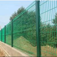 钢丝网围栏厂家 大庆公路围网护栏 方形柱隔离网定做