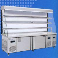 餐厅菜品展示柜定制-餐厅菜品展示柜-冠威制冷设备商用冰台