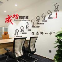 文字墙画梦想励志墙贴个性创意客厅自粘寝室中介贴画墙上会议房产