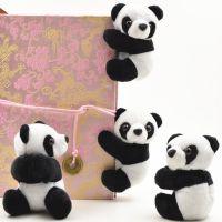 特色 熊猫夹子卡通可爱便签夹 毛绒小玩偶促销外事出国小礼品礼物