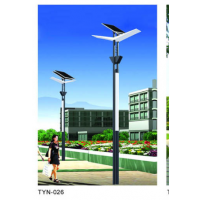绿色能源太阳能路灯,超高亮LED灯具作为光源, 安全、无污染,江苏
