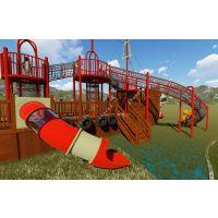 木质拓展幼儿园大型户外攀爬架儿童体能训练攀爬网木质拓展滑梯文旅亲子乐园可加工定做