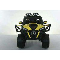 新款奔驰儿童电动车四轮双座可坐遥控汽车双驱童车越野宝宝玩具车