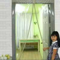 门帘空调窗帘挡风厨房隔断塑料冬季保暖防风透明胶胶软门隔断帘