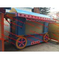 山西贸易商业展示售卖车花车 山东路边小吃车移动售货车
