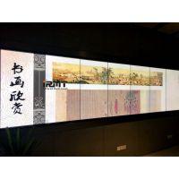 IRMT精研电子为莆田图书馆提供红外多点触摸1×22拼接触控墙案例展示