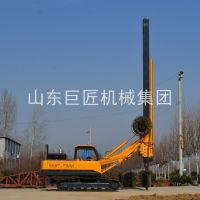 畅销巨匠集团大型15米履带机锁杆旋挖钻机全液压打桩机成孔快