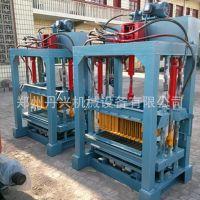 供应各种型号空心免烧砖机 液压全自动免烧砖生产线 混凝土垫块机