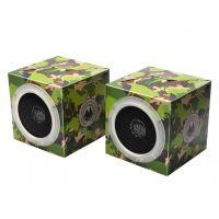X-Cube 方形环保折叠音箱 大面积广告位  环保蓝牙音箱