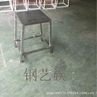 304磨砂拉丝不锈钢客厅家具餐椅厂家专业定制酒店烧烤店凳子