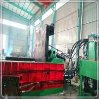 易拉罐压块机 自行车架子打包机 解体汽车壳压块机 300吨压块设备