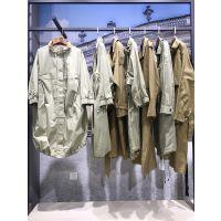 广州第五朵风衣走份批发 折扣店女装进货渠道