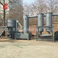 小型气流式无烟炭化炉 环保连续式秸秆炭化炉 新型原木吊装炭化炉
