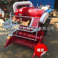 小型手扶拖拉機帶一九牌小麥聯合收割機 收割寬度1米 廠家質量保證產品