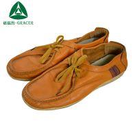 库存二手皮鞋出口菲律宾 柬埔寨 杂款韩版牛皮系带商务潮流男皮鞋