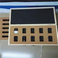 定制高弹EVA内衬包装盒内托异型切割EVA化妆盒内衬