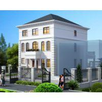 抚州别墅设计AT1763浪漫法式别墅设计图[送庭院设计]三层小别墅图纸9.5mX17.1m