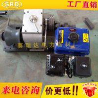 汽油柴油无动力机动绞磨机 电缆牵引器 卷扬机3吨5吨8吨