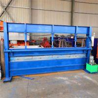 厂家供应4-6米折弯机 剪板机 不锈钢折弯机 必备彩钢压瓦机