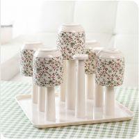沥水架子 厨房小工具红酒杯架创意置物架塑料杯架沥水