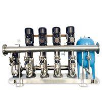 鑫溢 不锈钢多级泵变频供水设备 管道不锈钢增压供水设备 详情及参数