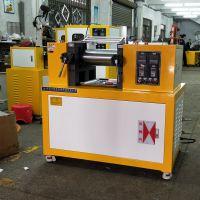 锡华4寸炼胶机 XH-401全自动硅胶混炼机 实验室打样板专用