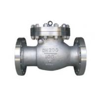 长寿H44H旋启式止回阀可立卧安装,主要用于石油、化工、制药、电力等行业