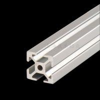 供应2020工业铝型材 铝合金展示栏 仪器框架 铝管材