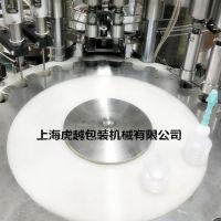 波纹瓶灌装机 甘油精油自动灌装设备 常压液体灌装生产线