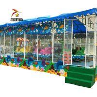 游乐场户外儿童游乐设备欢乐喷球车市场广阔高盈利