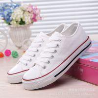 富步厂家直销批发代理透气基本款帆布鞋低帮浅口女鞋A01常青款