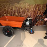 小款带动力三轮车 修建农房省力劳动车 奔力YT-FD