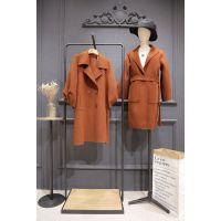 丝辉印月厂家直销品牌女装折扣女装 阿里巴巴批发网外贸尾货藏蓝色蕾丝衫