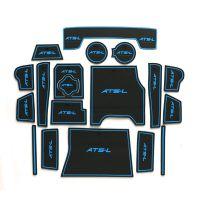 凯迪拉克ATS-L内饰专用门槽垫水杯垫改装ATS-L内饰扶手箱垫防滑垫