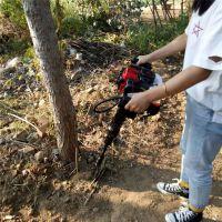 供应杨树苗移植机 两冲程汽油起树机 果树断根机富兴