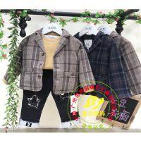 冬季新品童装豆豆衣橱折扣尾货批发-广州思宾服饰