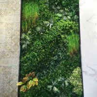绿植墙厂家? 东莞梦幻城堡帮你实现~ 仿真植物墙 PE进口材料无毒无异味 商场装饰绿化园林景观假植物