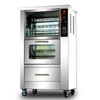 立式烤地瓜机光波加热商用烤红薯机器128型烤玉米机