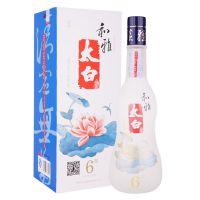 陕西名酒太白和雅6年46度500ml复合香型白酒 产地货源零售供应