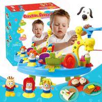 大型3D彩泥橡皮泥diy模具工具套装彩泥桌儿童过家家DIY益智玩具