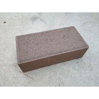 河南面包砖、金刚砂透水砖厂家 人行道彩砖价格优惠